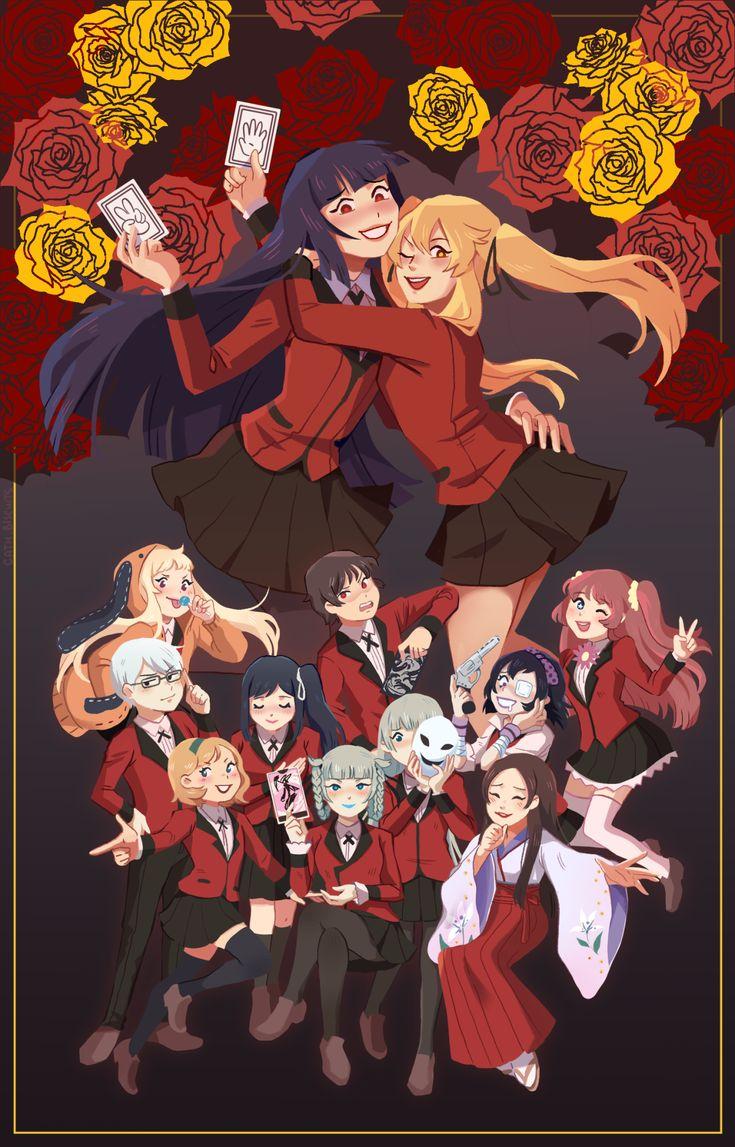 Kakegurui in 2020 anime wall art anime aesthetic anime