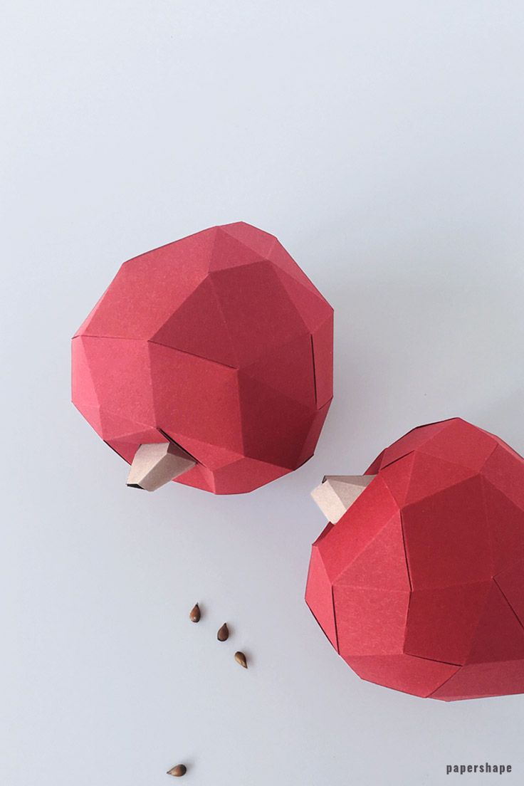 How To Make Acorns From Paper Free Template Paper