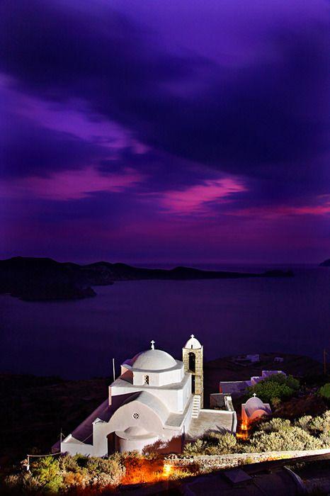 Panagia Thalassitra (Virgin Mary of the Seas) church in Milos
