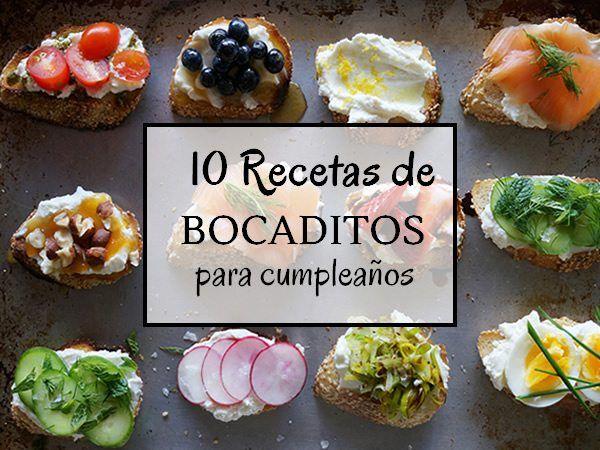 17 mejores ideas sobre aperitivos de fiesta de cumplea os - Preparacion de cumpleanos infantiles ...