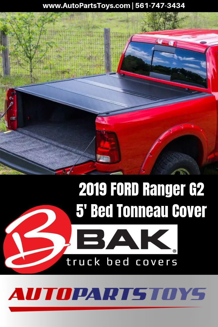 Bakflip 2019 Ford Ranger G2 5 Bed Tonneau Cover 2019 Ford