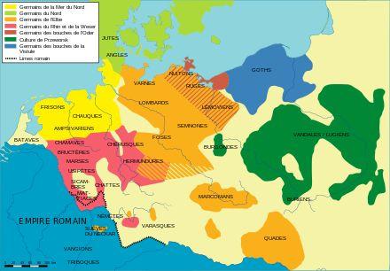 Peuples germaniques avant les invasions barbares — Wikipédia