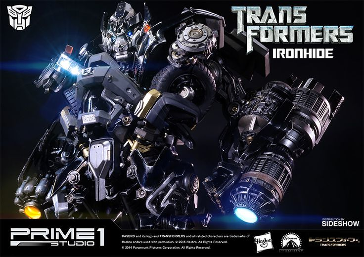 Transformers Ironhide Polystone Statue by Prime 1 Studio | Sideshow Collectibles