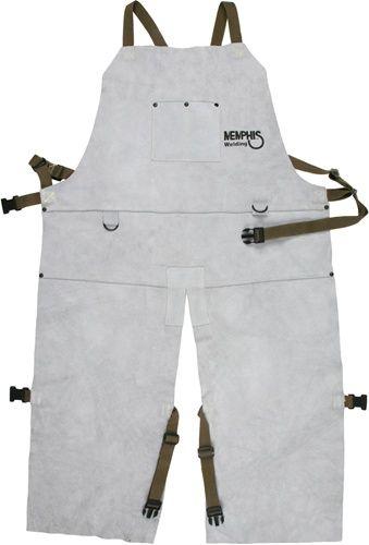 Memphis™ Welding Leather Split-Leg Apron