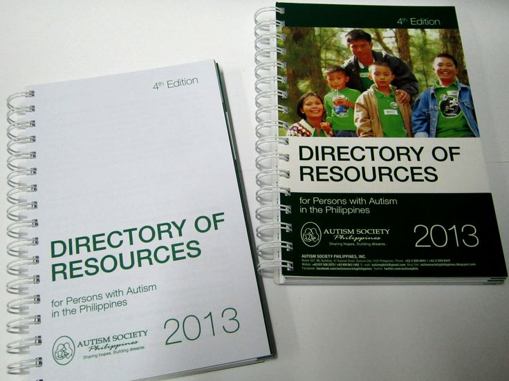 ASP Directory of Resources for Persons with Autism in the Philippines is a listing of establishments providing services and products for families who live with autism. It is a nationwide listing that has helped many families since the first edition was released.  Order this item at: https://autismall.myshopify.com/products/directory-asp-directory-of-resources