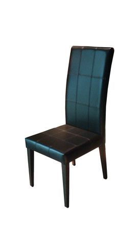 """The Katlyn chair is a perfect simple modern style dining chair. It's wood legs add a natural element to it's look.  Dimensions: 22"""" x 20"""" x 40""""H"""