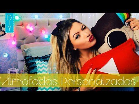 COMO FAZER ALMOFADA EMOJI- DIY | Patrícia Bross - YouTube