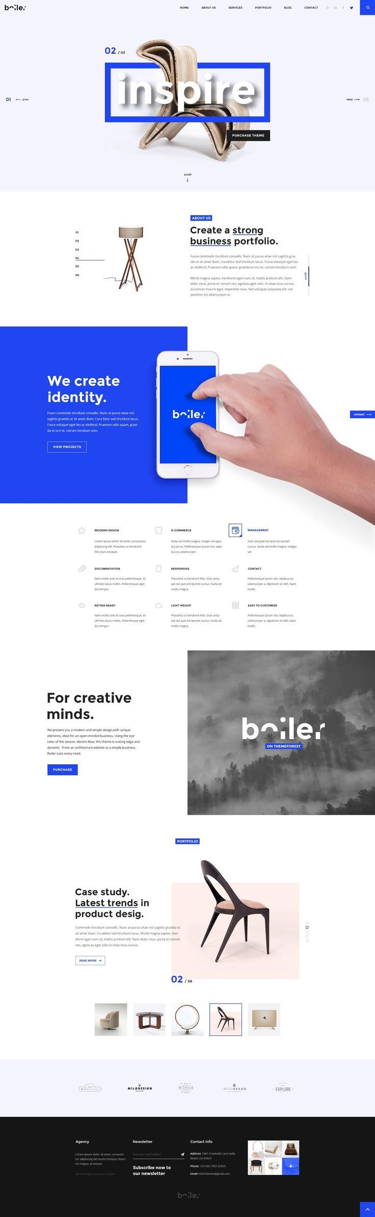 Boiler – Creative Agency