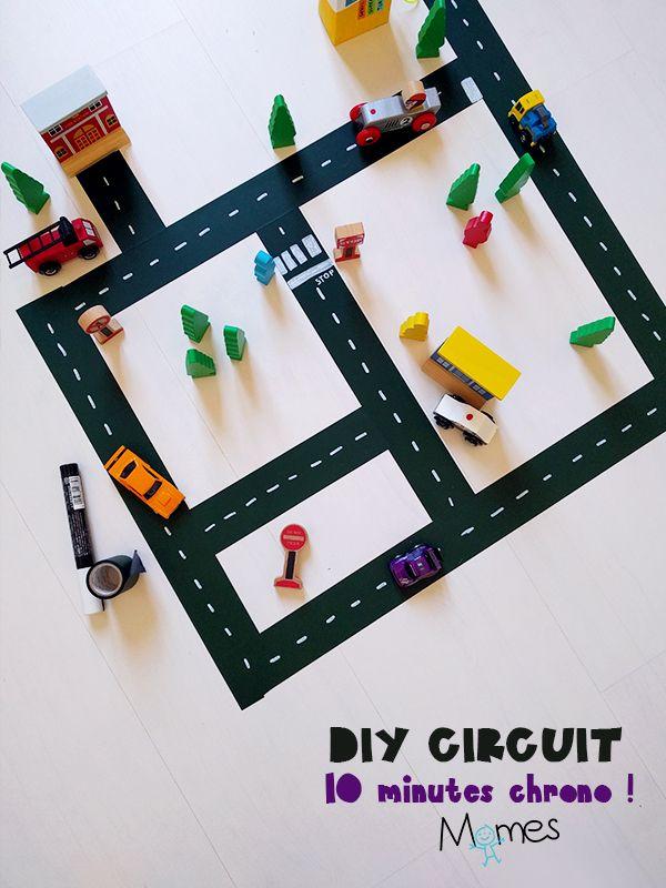 DIY : un circuit de voiture en 10 minutes !