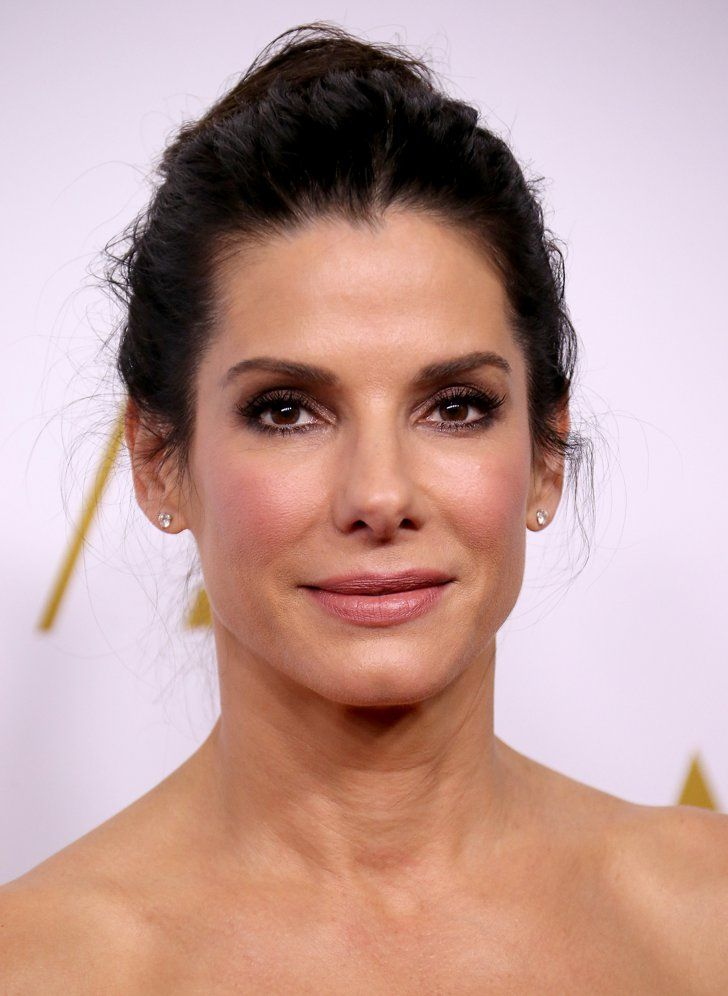 Pin for Later: You Will Not Believe What Celebrities Actually Do to Their Faces Sandra Bullock