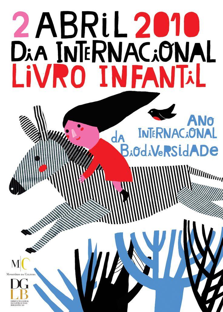 Madalena Matoso – Affiche pour un salon du livre d,enfant (2010)