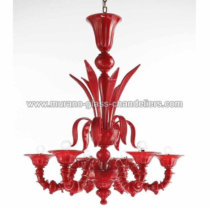 15 Best images about Red Murano chandeliers – Red Murano Glass Chandelier