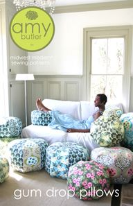 Amy Butler Sewing Patterns for Gumdrop pillows