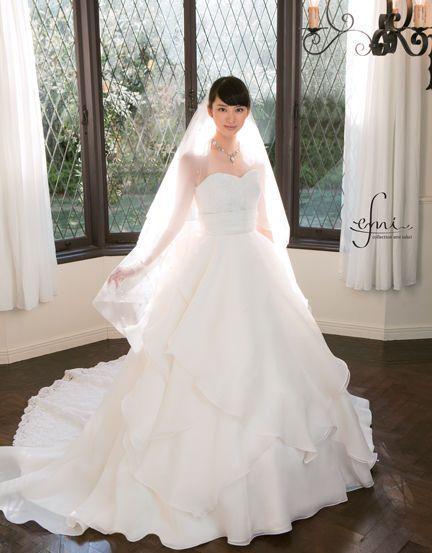 Emi Takei in Wedding Dress