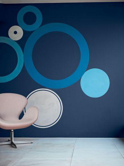 peinture bleu les couleurs tendance lapis lazuli turquoise profond lapis lazuli et. Black Bedroom Furniture Sets. Home Design Ideas