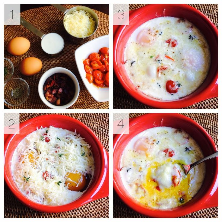 Baked Eggs How-to