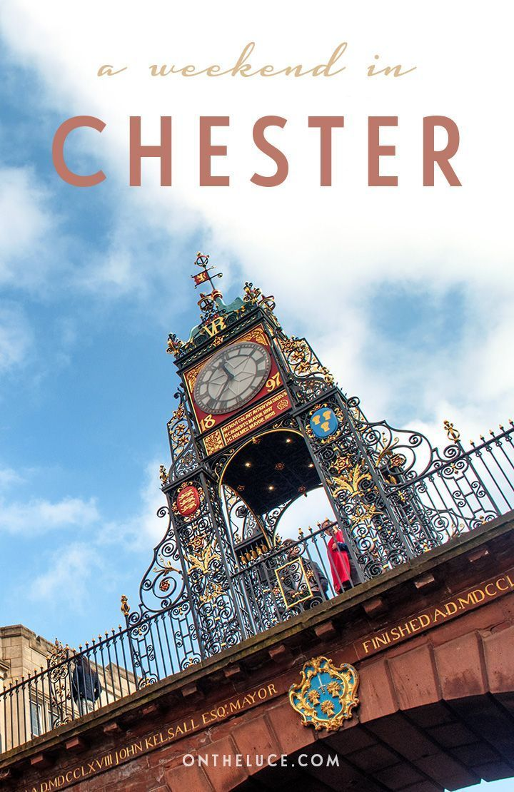 How to spend a weekend in Chester in north-west England, with tips on what to see, do, eat and drink on a 48-hour escape to this pretty historic city.
