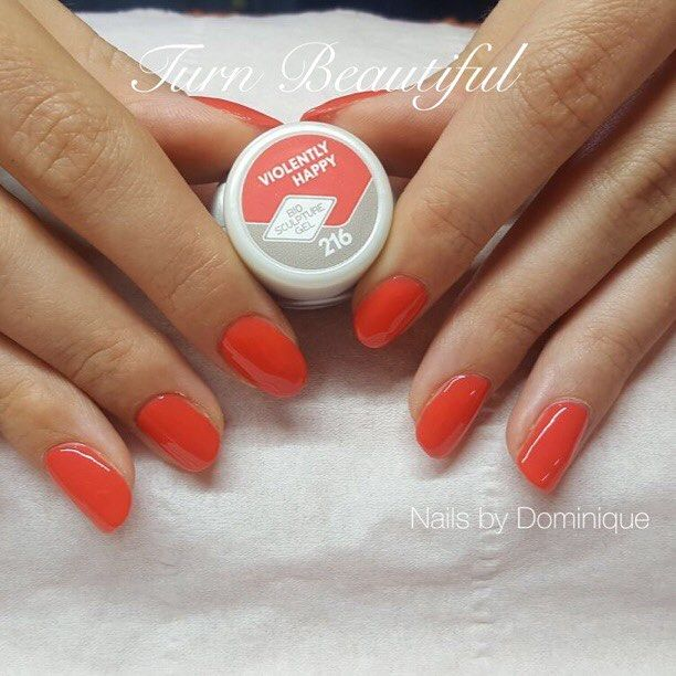 #Brighton beautiful  nails by Dominique using Bio Sculpture Gel.  Our gel is a pure patented gel system that offers not only strength and durability it also promotes healthy nail growth by protecting the natural nail. Bio Sculpture is free of formaldehyde formaldehyde resin toluene DBP or camphor is strictly animal cruelty free and 100% Vegan!  . . #biosculpture #biosculpturenails #gelnails #brightonnails #nailsofinstagram #216 #violentlyhappy #happy #brightonvegan #vegan #vegannails…
