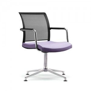 chair office chairs mesh castors magenta upholstery colours wheels