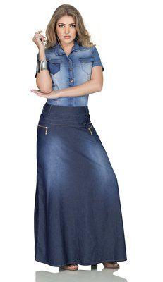 RW4125 - Saia Jeans Longa - Row-an