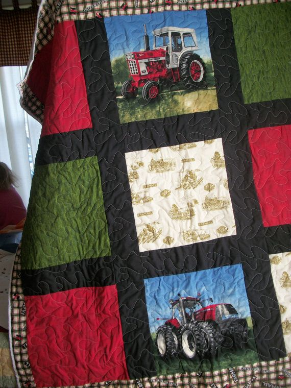 Farmall International Harvester Tractor baby by AbbysSpareTime, $75.00