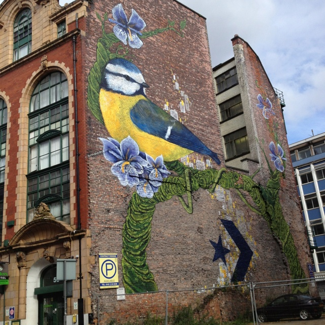 Everyone always photographs this building when they walk past :) - Northern Quarter