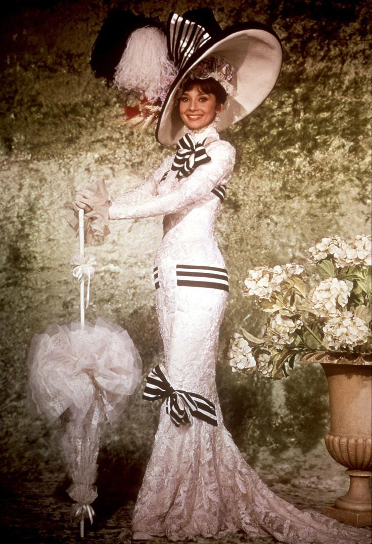 My Fair Lady - Eliza Doolittle's rags-to-riches story became even more lavish years after My Fair Lady's 1964 release. Audrey Hepburn's festooned Ascot dress, designed by Cecil Beaton, fetched $3.7 million in 2011.