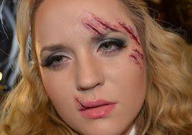 daily make up: Narben Schminken und Modellieren