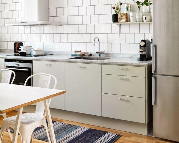 Plassering av komfyr, vask og kjøleskap