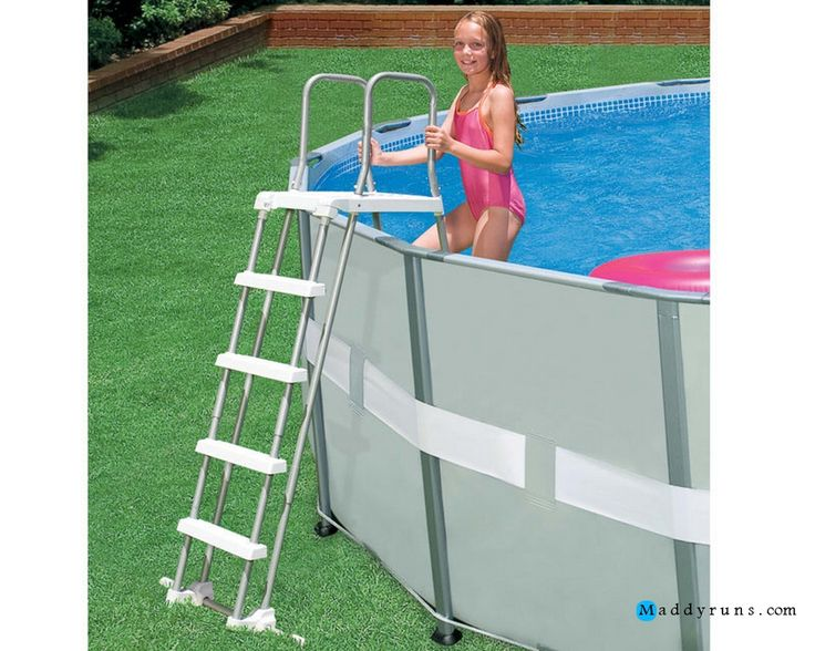 The 25 Best Inground Pool Ladder Ideas On Pinterest