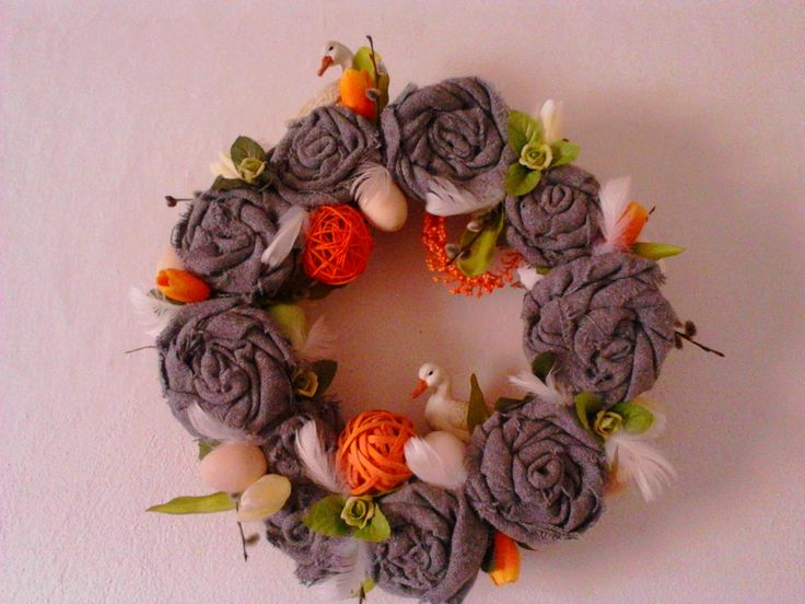 Door Wreath Easter 2015