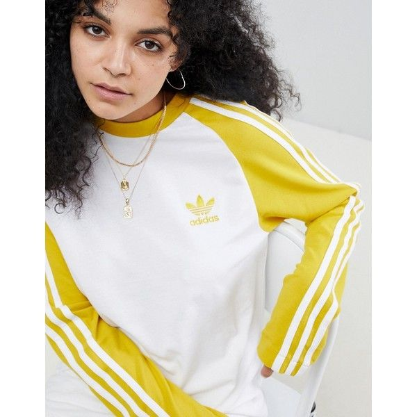 adidas Originals adicolor Three Stripe Stadium Jacket With