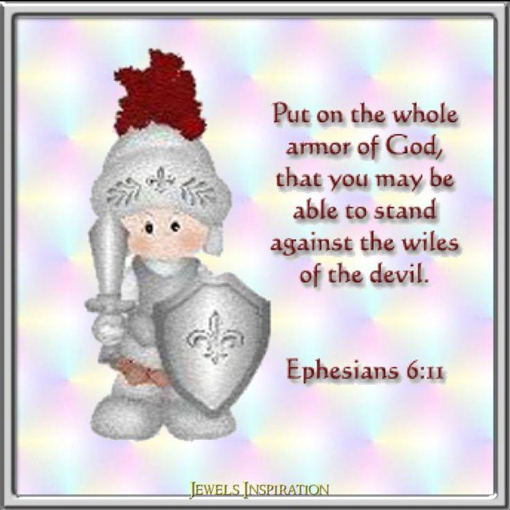 Ephesians 6 11 Armor Of God Faith In God Bible Stories