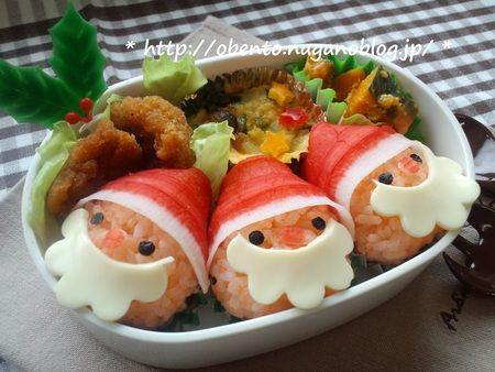 Bento Santa: Club OBENTO of treasury inadvertently