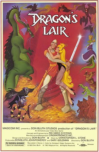 Dragon's Lair (1983 animated laserdisc video game)