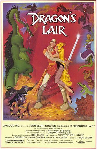 Dragon's Lair (1983 animated laserdisc video game)
