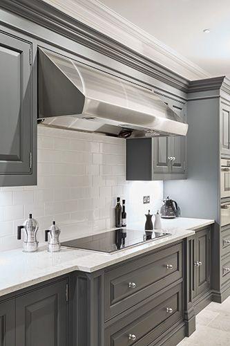 Luxury Grey Kitchen – Tom Howley