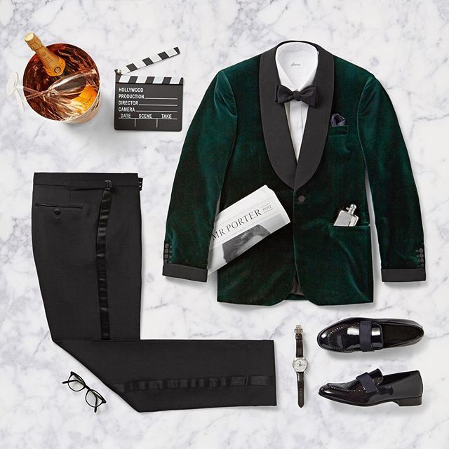 Watching The #Oscars tonight? Here's how to inject a little #Hollywood glamour into your evening look. #BestDressed #RedCarpetReady #MRPORTER