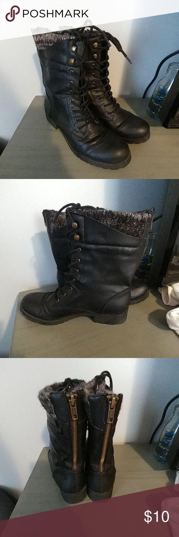 Women's Combat Boots Great condition. Report Shoes Combat & Moto Boots