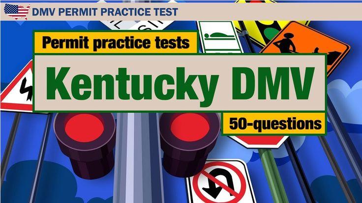 DMV Permit practice tests: Kentucky driving license written exam