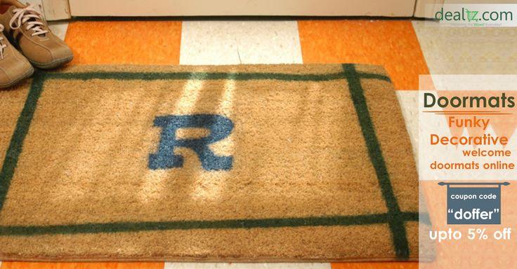 At Dealtz, we offer a range of indoor and outdoor #doormats online at best price.