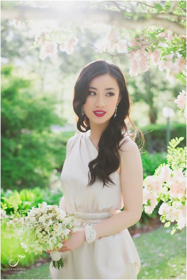 Whimsical bridesmaid dress inspiration feat Cathleen Jia #bridaldresses #bridalfashion #flowers #asianbridemaid