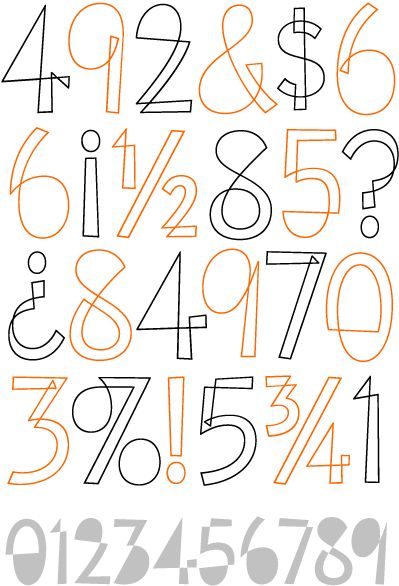 Eames Cover Numerals