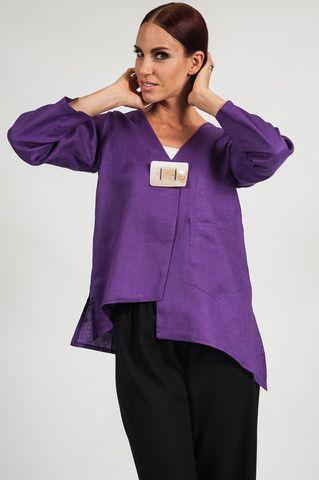 The Elizabeth Linen Jacket | Heydari. Sexy and casual linen jacket.