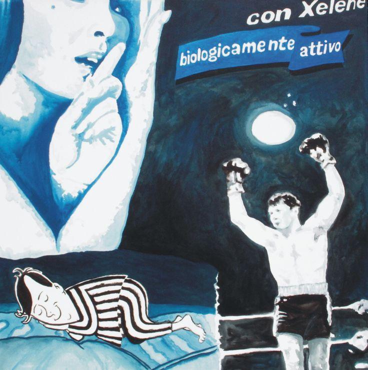 fantasy boxe 2: immagini che si confondono, un incontro di boxe, il vincitore esulta...una donna sussurra qualcosa...una vecchia pubblicità ...che mi fà dormire!