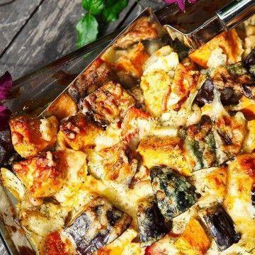 vego sweet potato sötpotatis dill vegetarisk sötpotatisgratäng