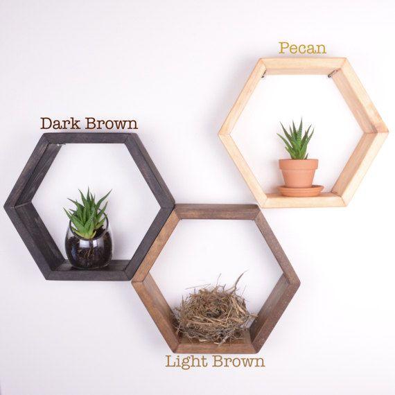 6 Hexagon Honeycomb Shelves | £86.53 | easy.com