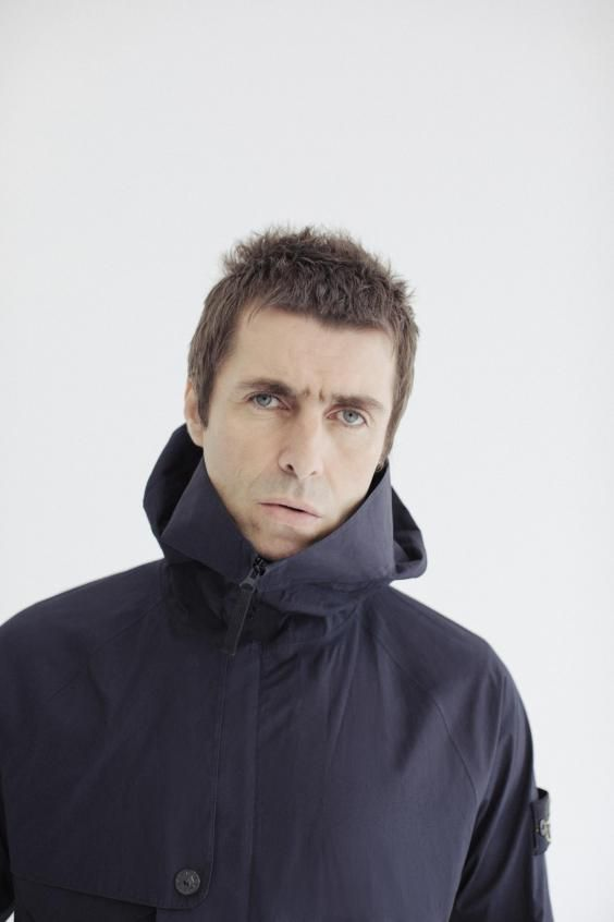 Sat in the Library Room of the Union Club on Greek Street, Liam Gallagher — a lunchtime double espresso down, in a black cagoule, black jeans and purple suede shoes — is showing me the alarm screen on his iPhone. 'Look at that bad boy,' he says, holding it in front of my eyes. It reads '05:00', and underneath, 'ALARM, WAKE UP.'