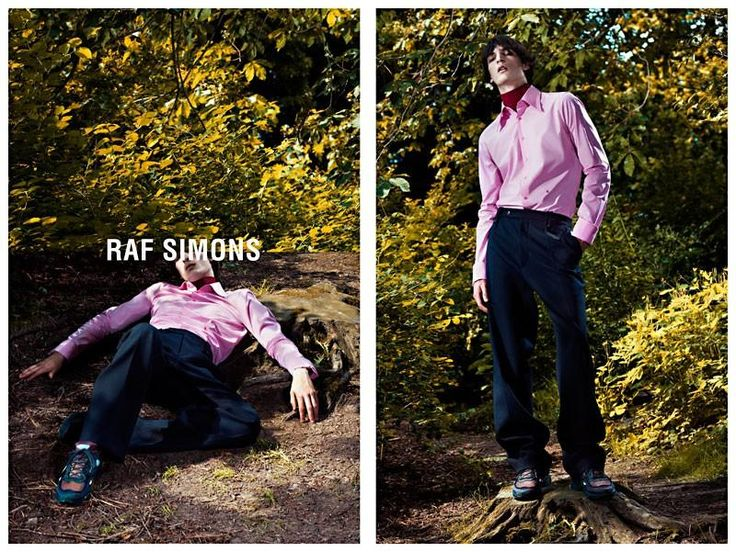 Raf Simons Autumn/Winter 2013 Campaign by Willy Vanderperre