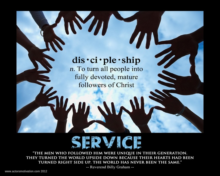 a study of baptism and discipleship The greatest calling a person can have is to be a disciple of jesus jesus himself  has called us  do you have to be baptized to be a disciple john the baptist.